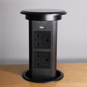 office conference table funiture power electric plug pop up socket