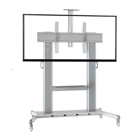 movable tv stand mobile tv trolley cart for 60