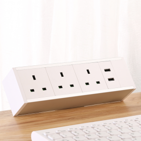 Removable clamp table socket multifunctional desktop socket with usb port