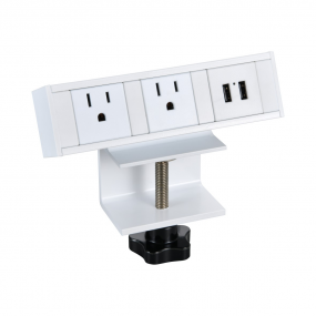 multifunctional desktop side mounted table socket with usb charger